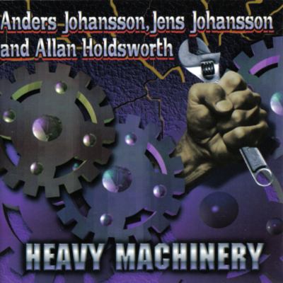 JENS JOHANSSON - Heavy Machinery cover