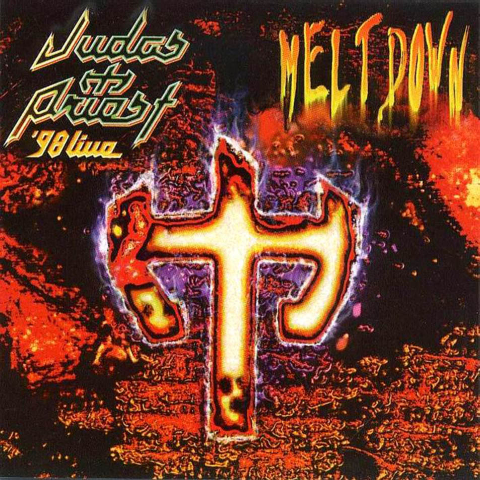 JUDAS PRIEST - '98 Live Meltdown cover