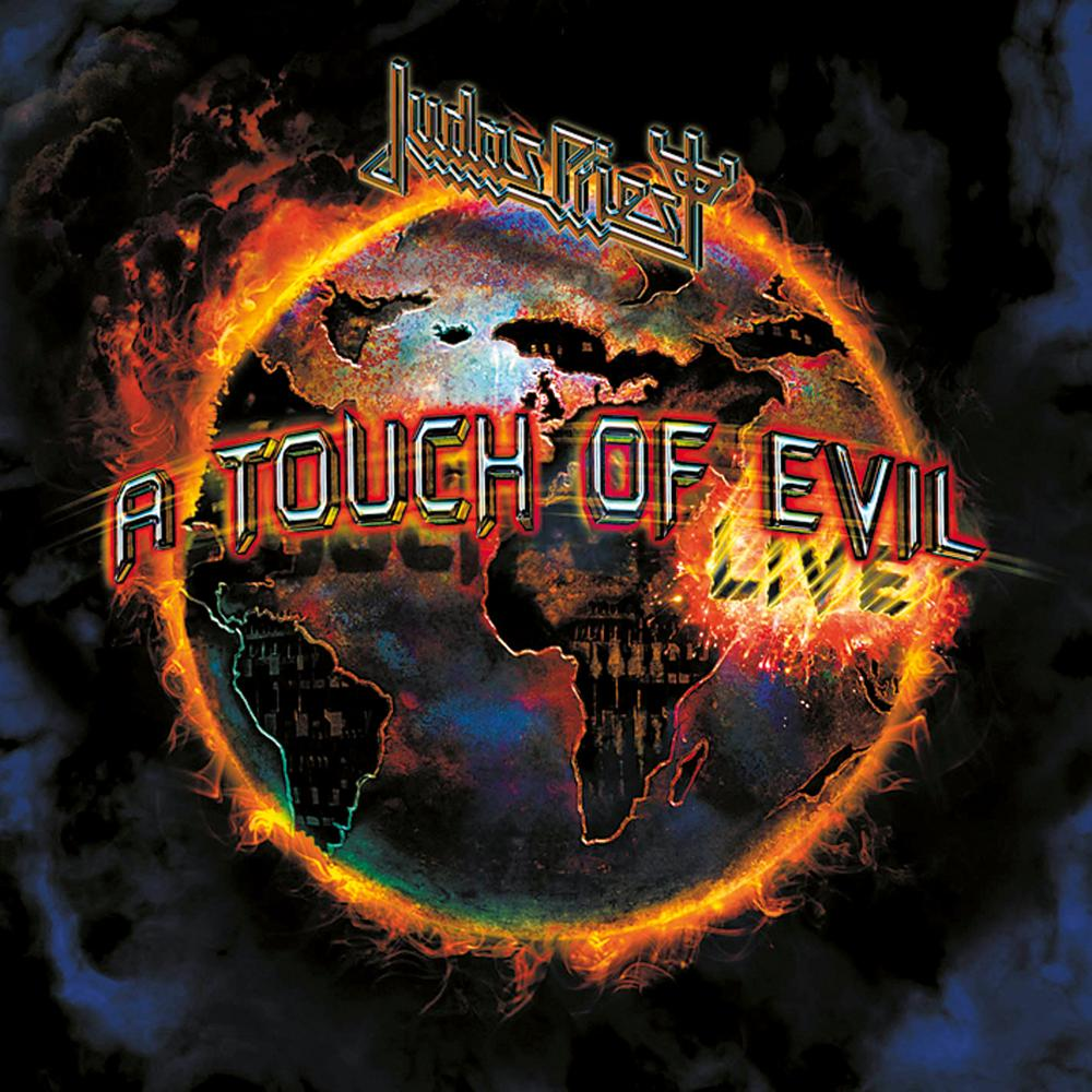 JUDAS PRIEST - A Touch Of Evil cover