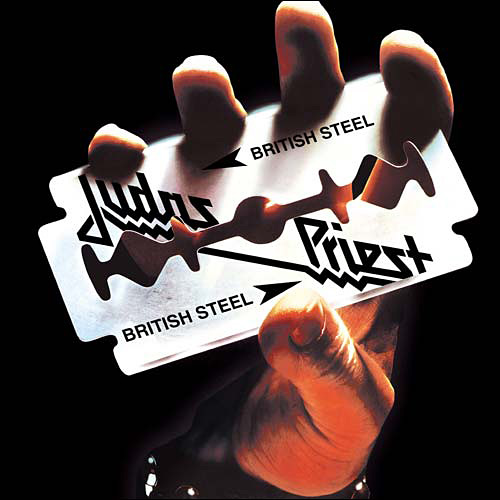 JUDAS PRIEST - British Steel cover