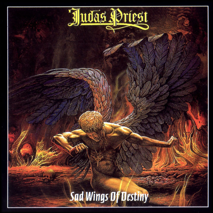 JUDAS PRIEST - Sad Wings Of Destiny cover