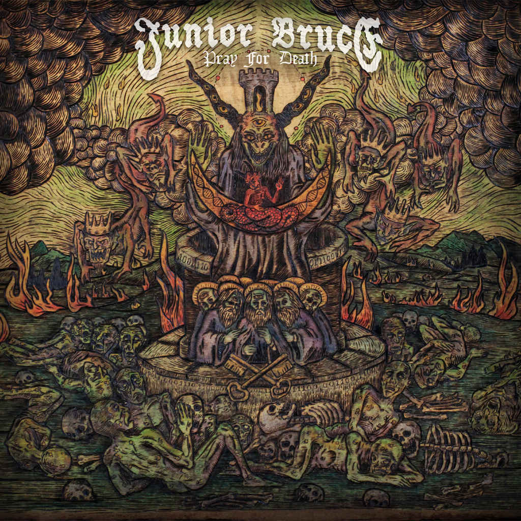 JUNIOR BRUCE - Pray For Death cover