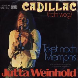 JUTTA WEINHOLD - Cadillac (Fahr weg) cover