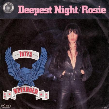 JUTTA WEINHOLD - Deepest Night / Rosie cover