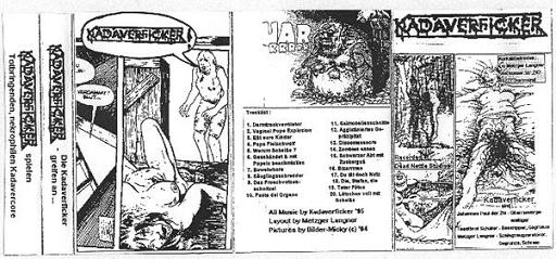 KADAVERFICKER - Die Kadaverficker greifen an... cover