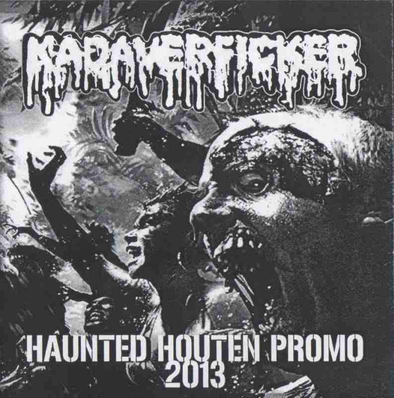 KADAVERFICKER - Haunted Houten Promo 2013 cover