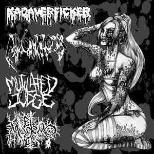 KADAVERFICKER - Kadaverficker / Mutilated Judge / Mixomatosis / El Muermo cover