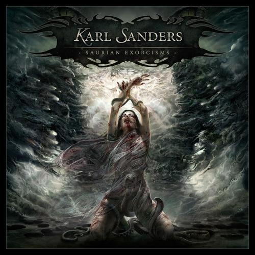 KARL SANDERS - Saurian Exorcisms cover