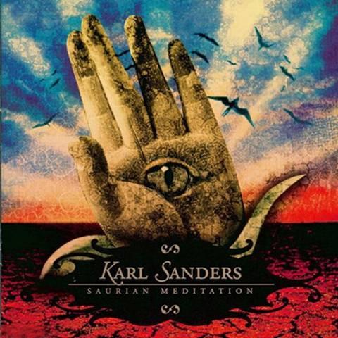 KARL SANDERS - Saurian Meditation cover