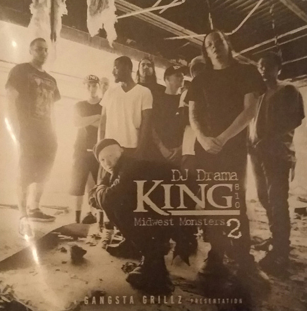 KING 810 - Midwest Monsters 2 (with  DJ Drama) cover