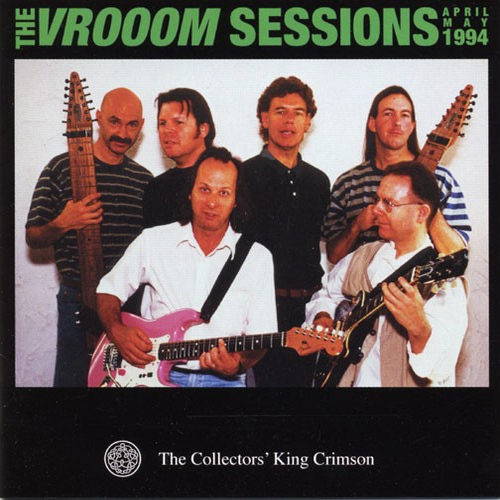 KING CRIMSON - The VROOOM Sessions cover