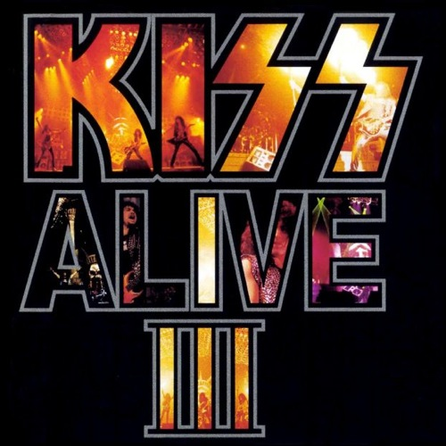 KISS - Alive III cover