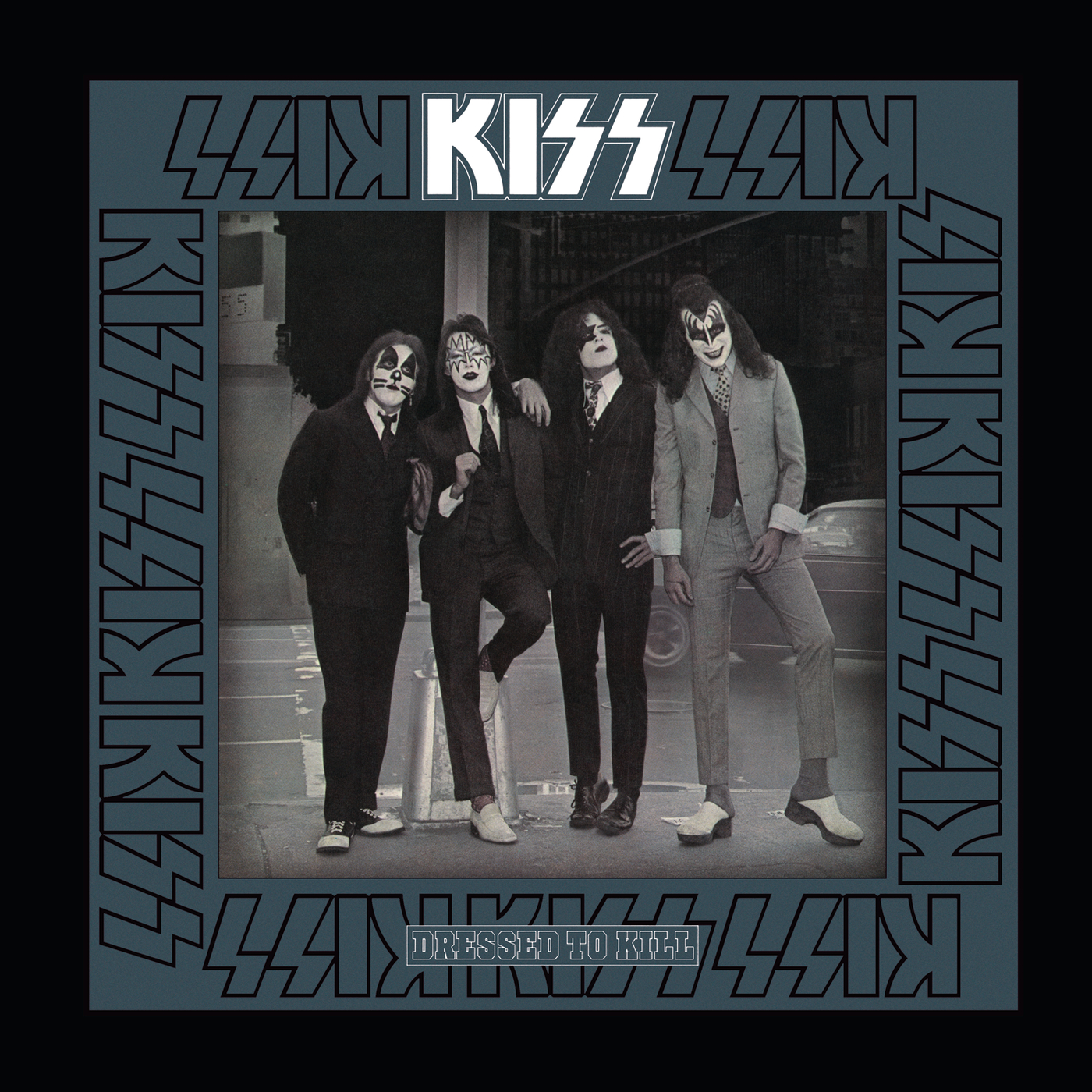 KISS - Dressed To Kill cover