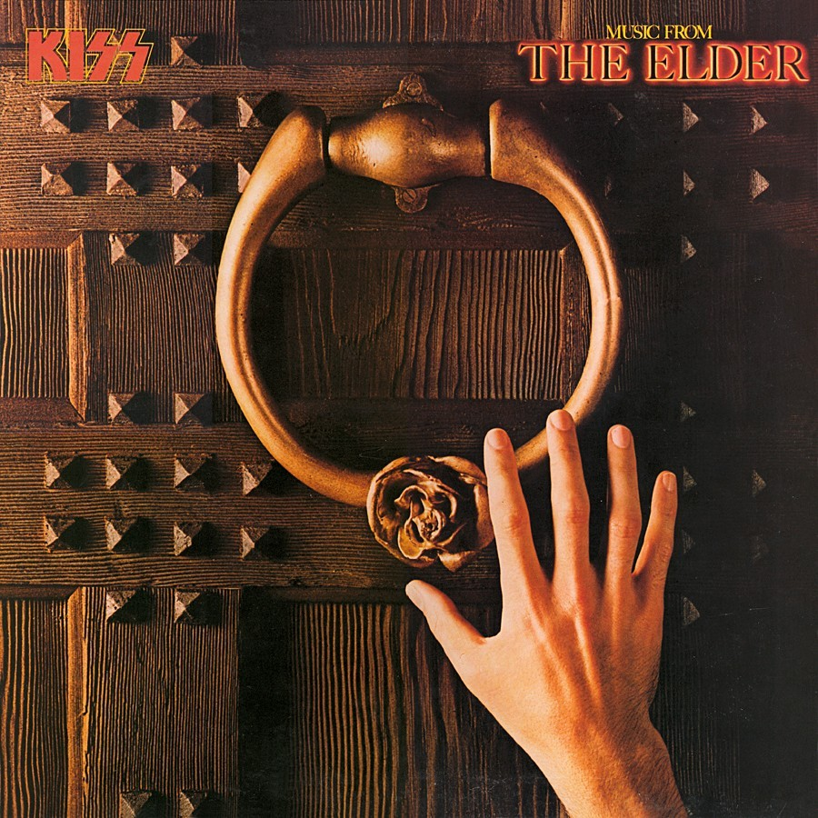 KISS - Music From The Elder cover