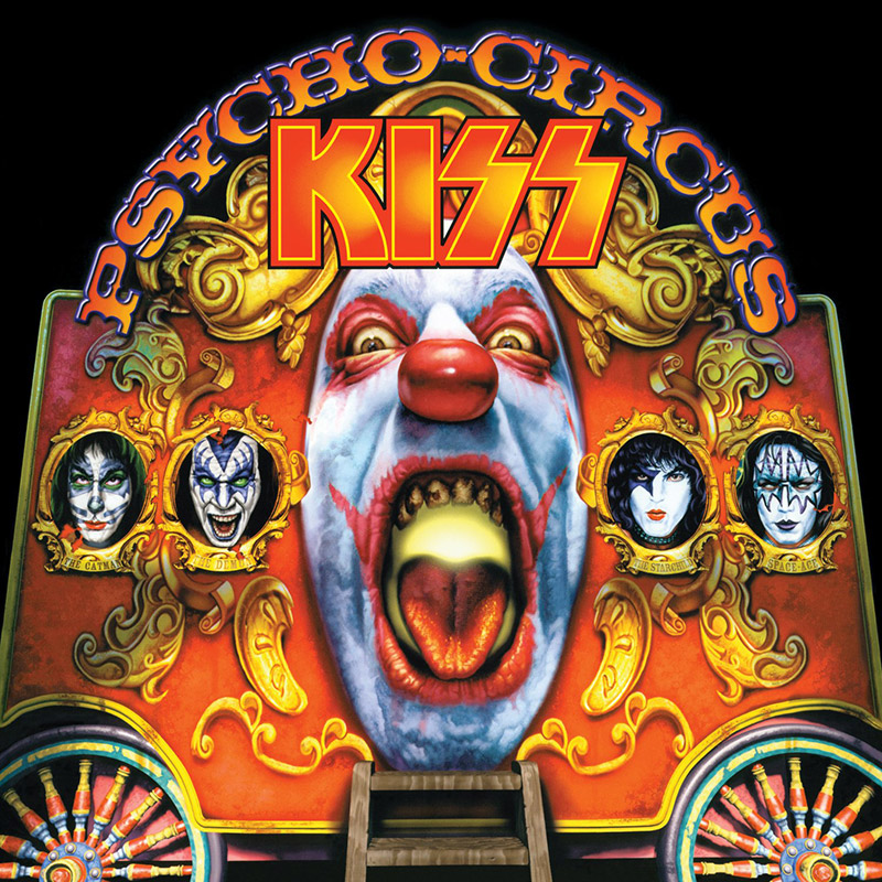 KISS - Psycho Circus cover