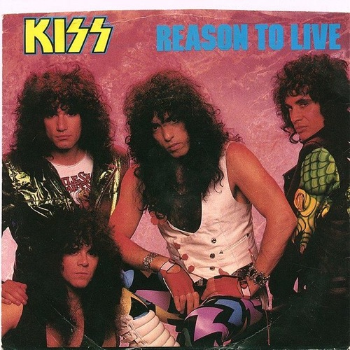 KISS - Reason To Live cover