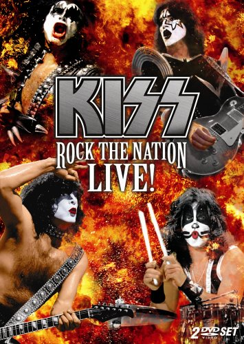 KISS - Rock The Nation Live! cover