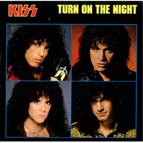 KISS - Turn On The Night cover