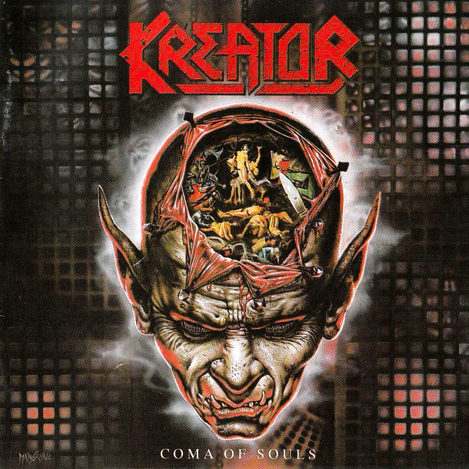 KREATOR - Coma of Souls cover