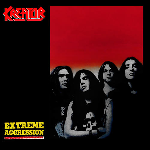 KREATOR - Extreme Aggression cover