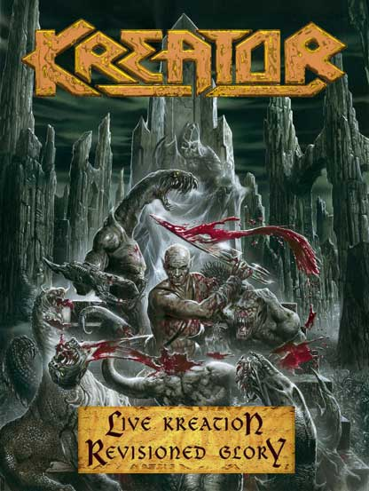 KREATOR - Live Kreation-Revisioned Glory cover