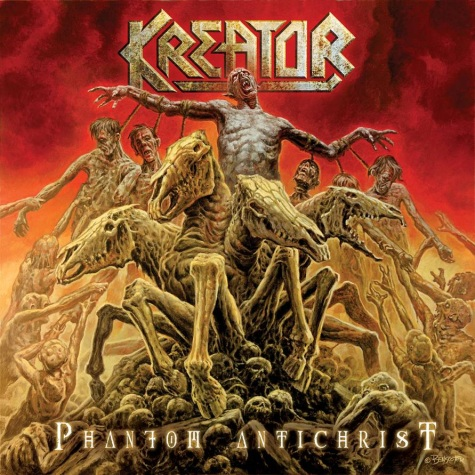 KREATOR - Phantom Antichrist cover