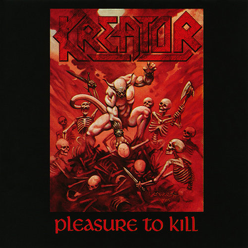 KREATOR - Pleasure to Kill cover