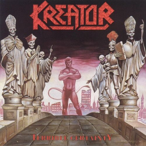 KREATOR - Terrible Certainty cover