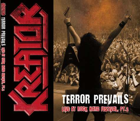 KREATOR - Terror Prevails: Live At Rock Hard Festival (Part 2) cover