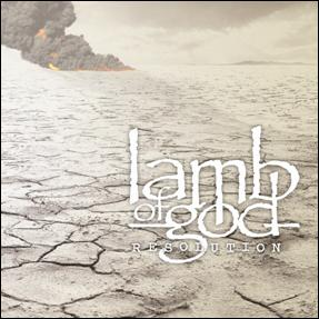 LAMB OF GOD - Resolution cover