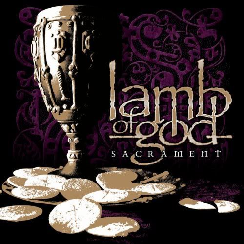 LAMB OF GOD - Sacrament cover