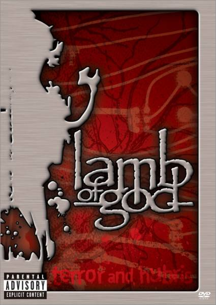 LAMB OF GOD - Terror and Hubris cover