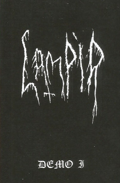 LAMPIR - Demo I cover