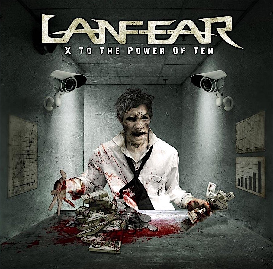 LANFEAR - X to the Power of Ten cover