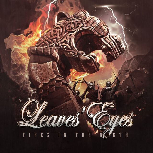 LEAVES' EYES - Fires in the North cover