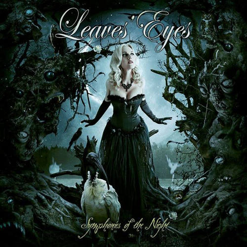 LEAVES' EYES - Symphonies of the Night cover