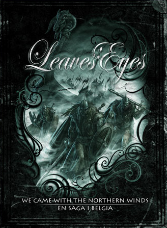 LEAVES' EYES - We Came with the Northern Winds – En Saga I Belgia cover