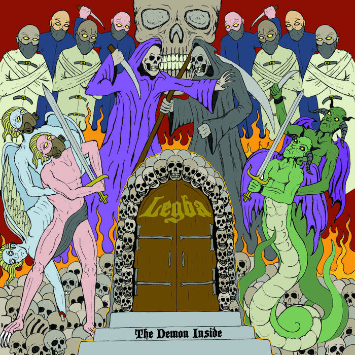 LEGBA - The Demon Inside cover