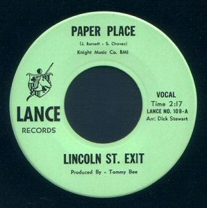 LINCOLN STREET EXIT - Paper Place cover