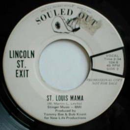 LINCOLN STREET EXIT - St Louis Mama cover