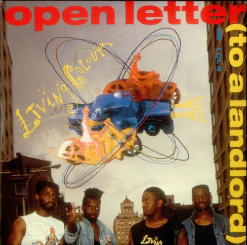 LIVING COLOUR Open Letter (To A Landlord) reviews