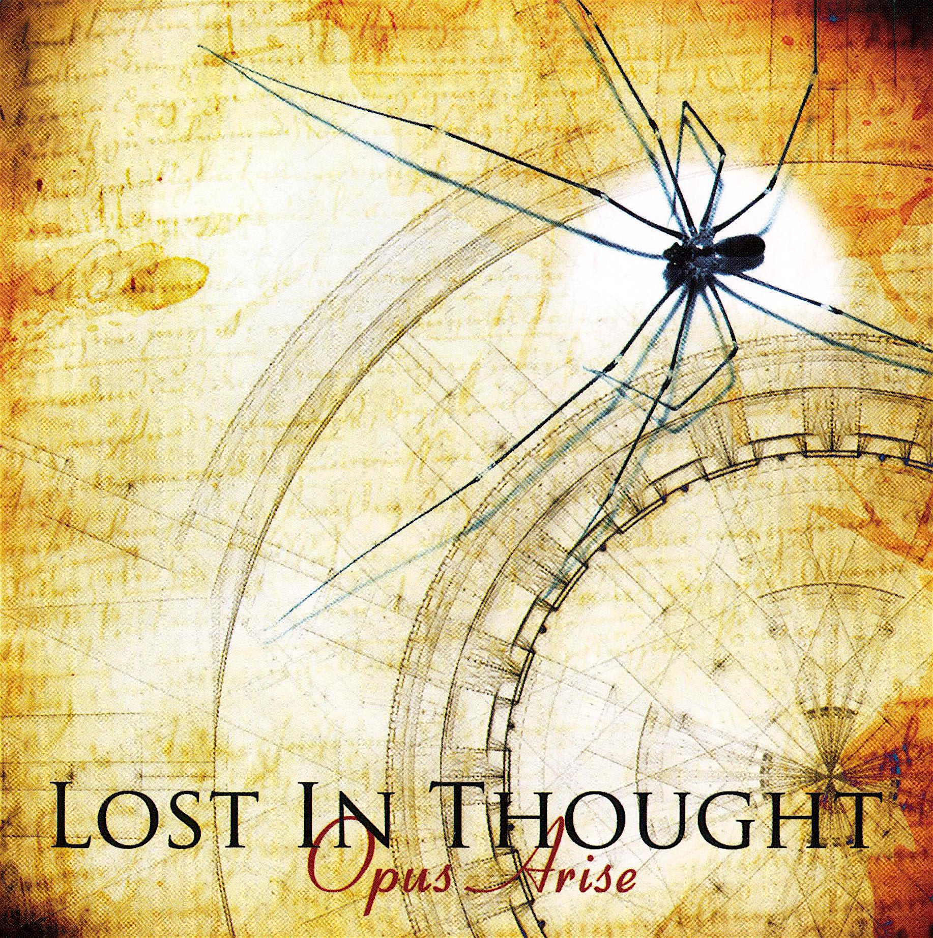 LOST IN THOUGHT - Opus Arise cover