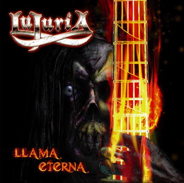 LUJURIA - Llama Eterna cover