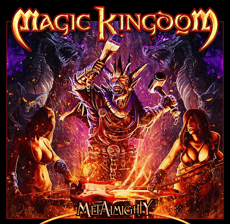 MAGIC KINGDOM - MetAlmighty cover