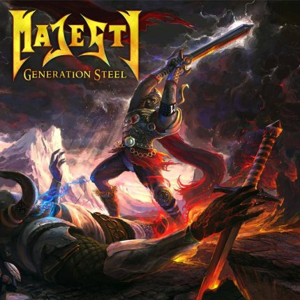MAJESTY - Generation Steel cover