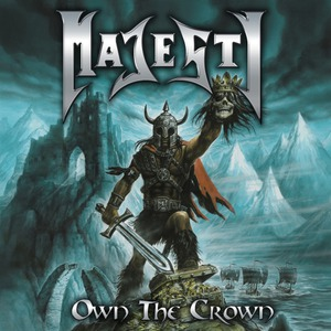 MAJESTY - Own the Crown cover