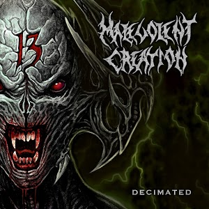 MALEVOLENT CREATION - Decimated cover