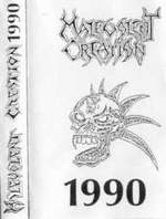 MALEVOLENT CREATION - Demo 1990 cover