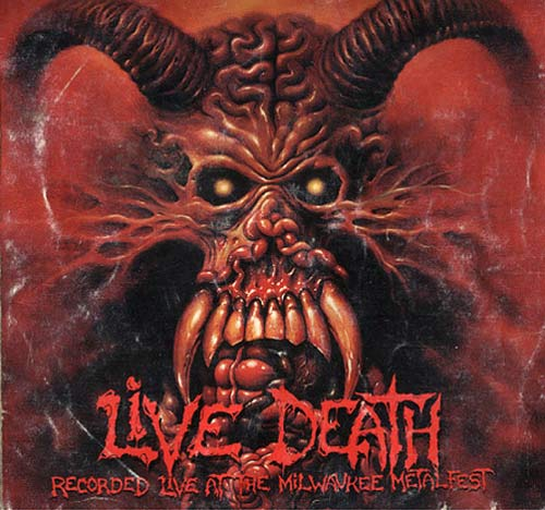 MALEVOLENT CREATION - Live Death cover