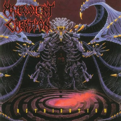 MALEVOLENT CREATION - Retribution cover